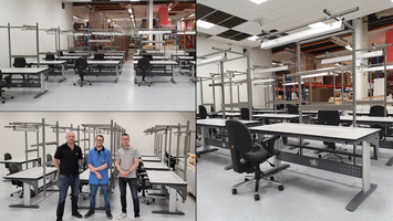 Norautron is growing and ESD-Center delivers the workstations!